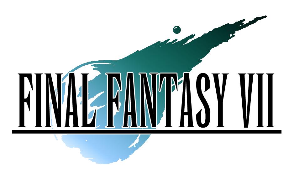 Resultado de imagen de final fantasy vii 1997 logo