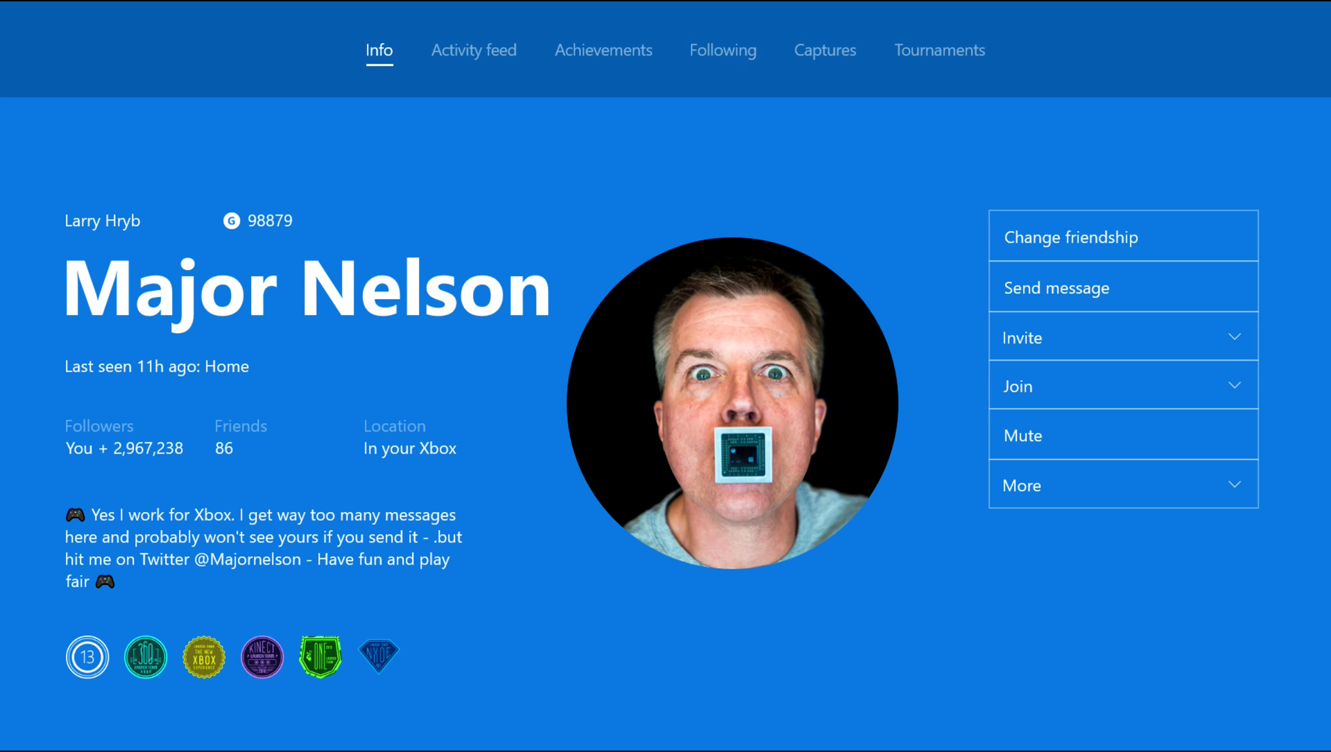 Xbox One Update Adds Support For Custom Profile Pics Se7ensins Gaming Community
